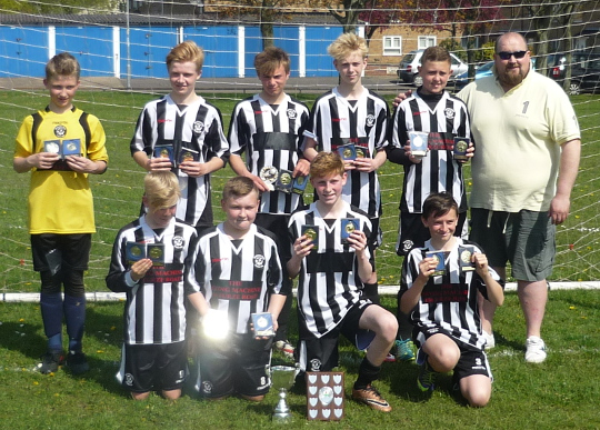 Heartsease U14 Cup and league