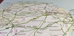 Norfolk map 750 AT