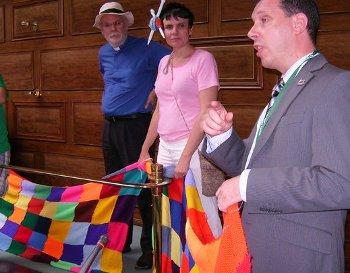 Norwich pride scarf