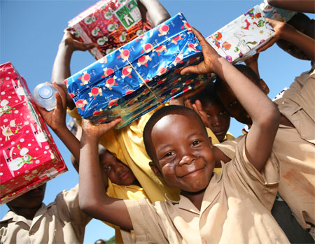 Network Norwich and Norfolk : Norfolk residents Christmas shoe box ...