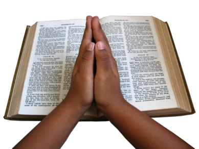 praying with bible 389 SX Credit Lionel Titu on http://www.freeimages.com/