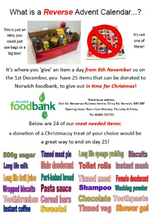 Foodbank reverse advent 299CF