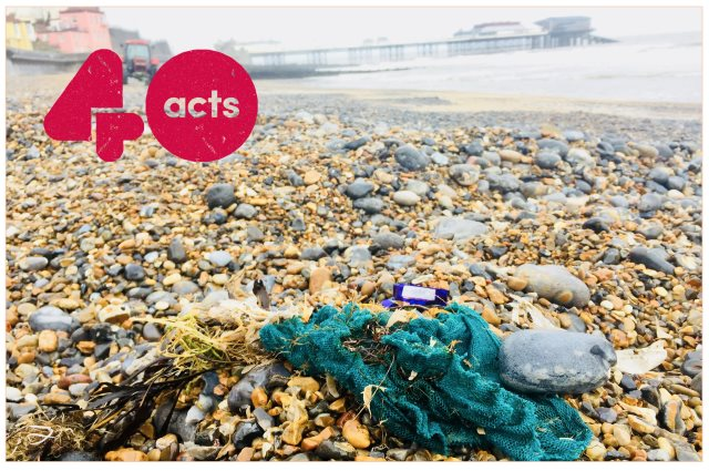 cromer church beach clean 640C