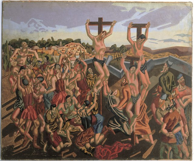 Methodist art - crucifixion 64