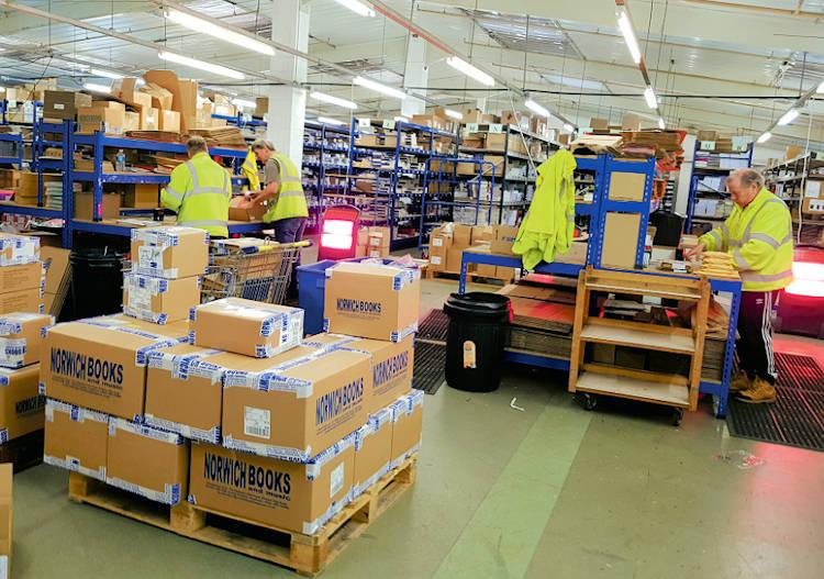 Network Norfolk : Hymnbooks cross the world from Norwich warehouse