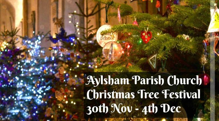 Network Norfolk : Christmas Tree Festival At Aylsham