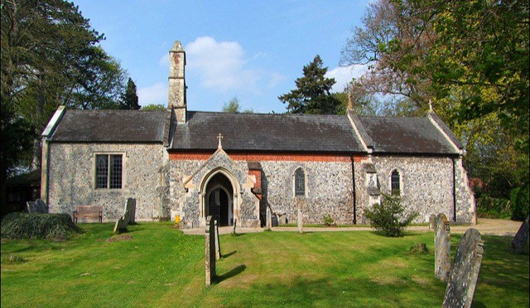 Brundall church 750AT
