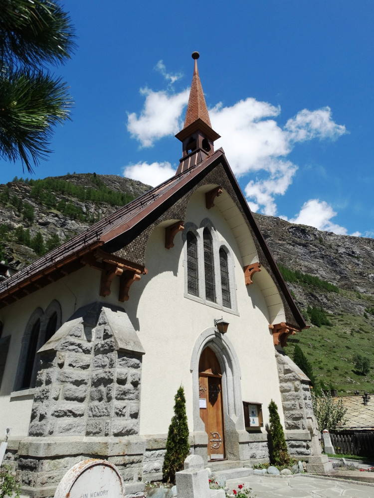 Zermatt church 750AT