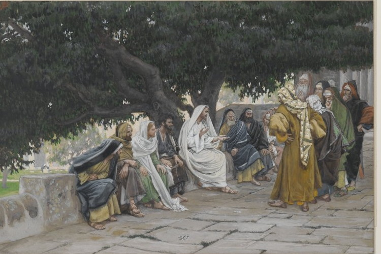 Pharisees with Jesus 750WC