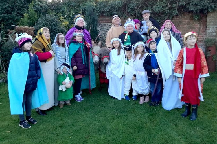 cawston walking nativity 750CF