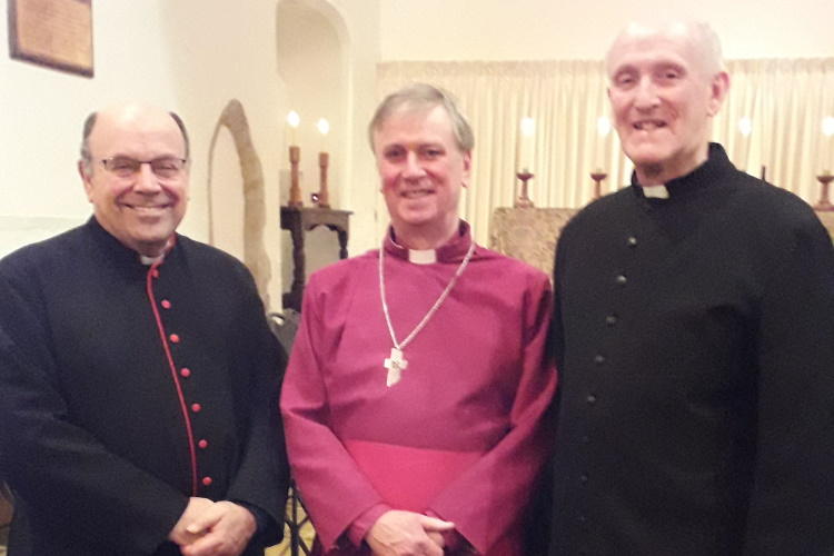 Weybourne priests and bishop 7